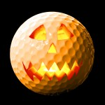 Golf pumpkin
